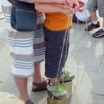 Trampoli: istruzioni d'uso
