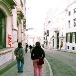 In giro per le via di Bruxelles