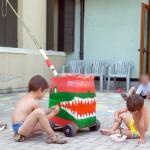 I coccodrilli preparano la loro arma segreta: la catapulta