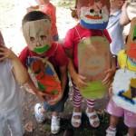 Bimbi Sperduti: armatura e maschera anti-elastico
