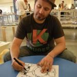 Roberto disegna